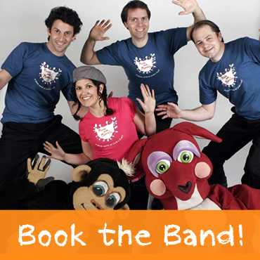Book a Show! Contact The Music with Marnie Band for a Live Show!